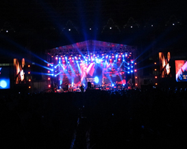 Indonesia Festival of Live uses Clair Brothers system