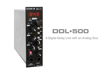 Introducing Eventide DDL-500 Delay