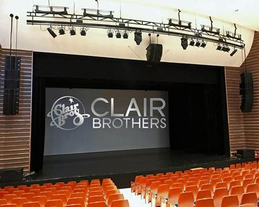 Sokcho Art Center South Korea Upgrades with Clair Brothers C8
