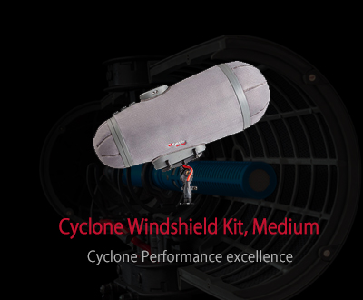 Cyclone Windshield Kit, Medium