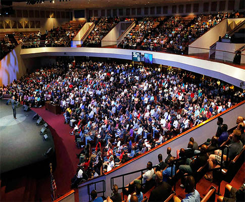 CLAIR BROTHERS MAKES ARENA-SIZED SOUND  AT OAK CLIFF BIBLE FELLOWSHIP IN DALLAS