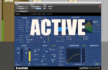 Eventide UltraReverb 混响插件演示